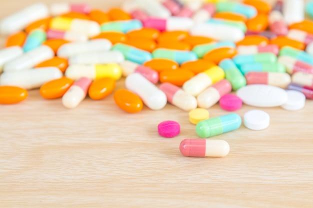 Medizin pille und kapsel