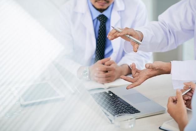 Medizinische diskussion