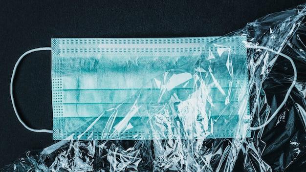 Medizinische gesichtsmaske zum schutz vor coronaviren
