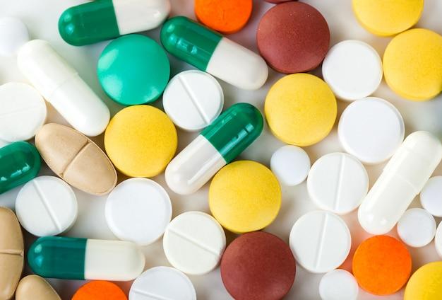 Medizinische pillen zur behandlung von patienten