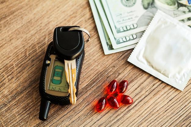 Medizinische potenzpillen für die sexuelle gesundheit in kapseln.