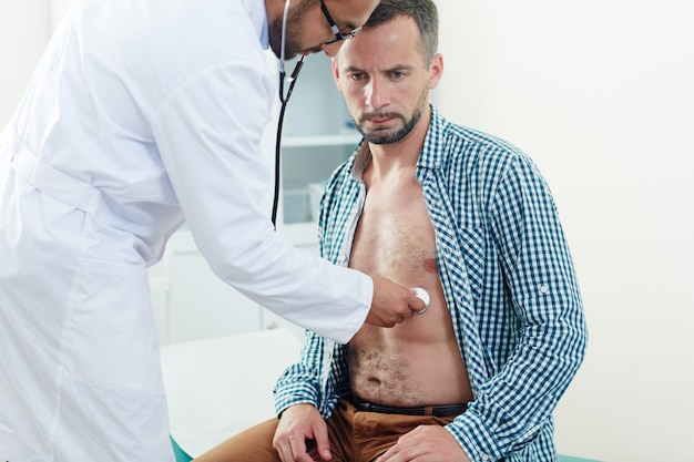 Medizinische untersuchung