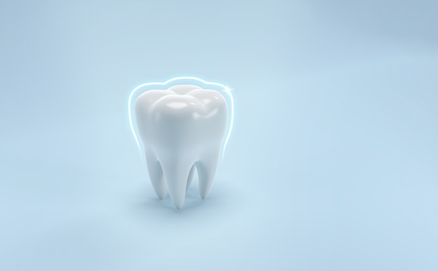 Medizinischer hintergrund der zahnpflege der zähne