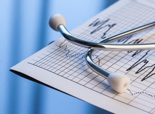 Medizinischer hintergrund. medizinische werkzeuge von cardiologi