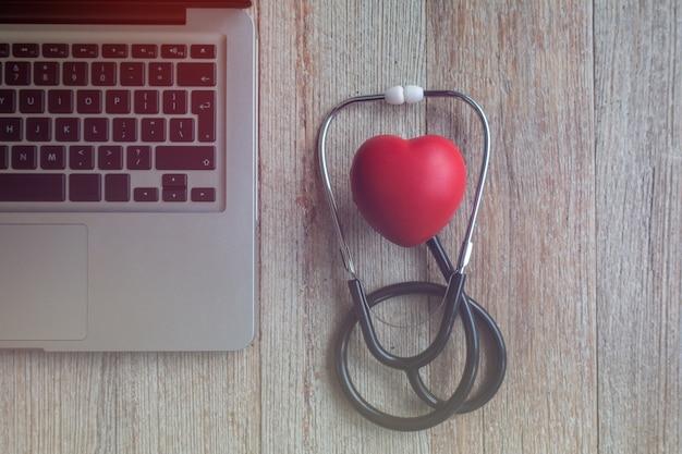 Medizinisches online-konzept