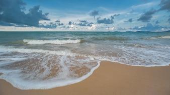 Meer am Strand.