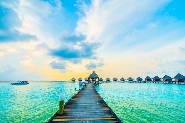 Meer haus resort exotischen himmel