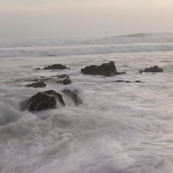 Meerblick vor der küste von costa rica