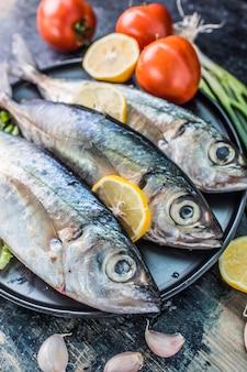 Meeresfrüchte, fisch