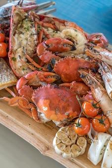 Meeresfrüchte-platte