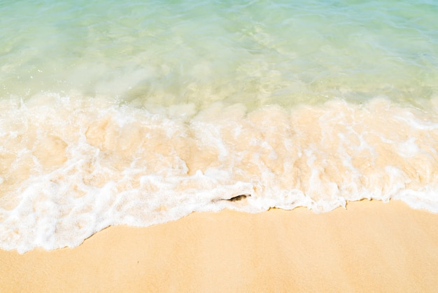 Meereswelle am strand