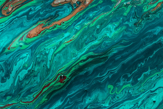 Meereswogen der künstlerischen beschaffenheit der acrylfarbe