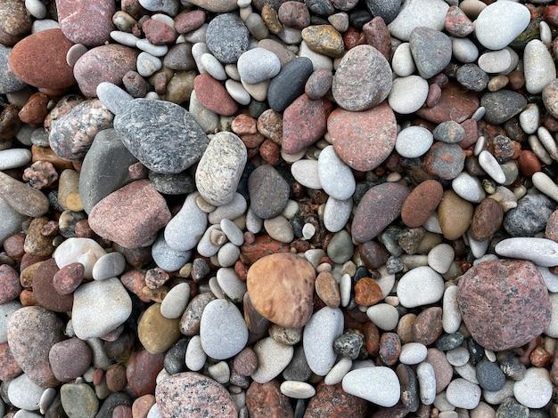 Meerkiesel meersteine strandfelsen