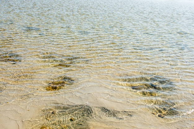 Meersand textur wasser