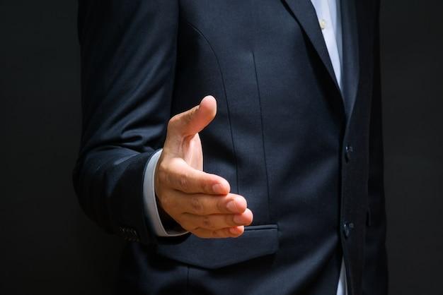 Meeting-konzept für geschäftspartnerschaften