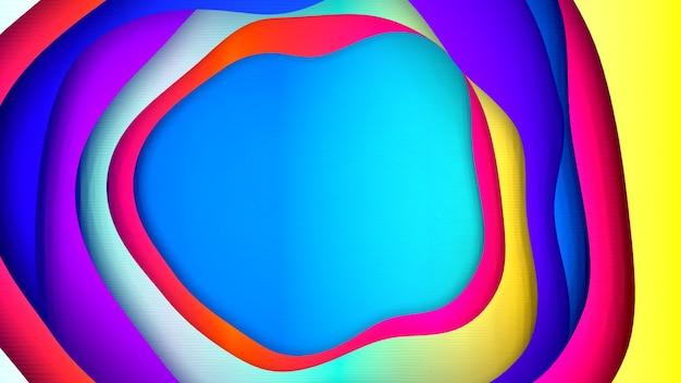 Mehrere schichten der wellenoberfläche abstrahieren
