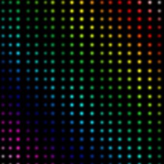 Mehrfarbige punkte bilden linien