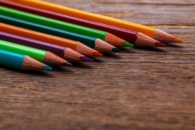 Mehrfarbige stifte
