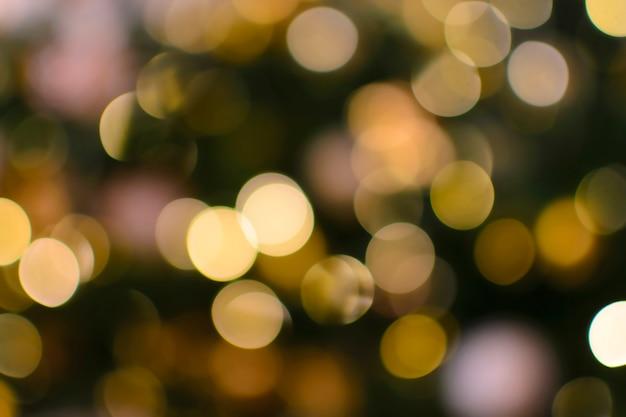 Mehrfarbiger bokeh-weihnachtshintergrund