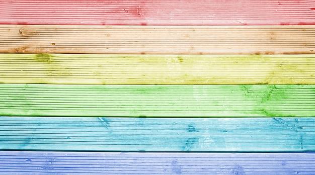 Mehrfarbiger naturholzplankenbeschaffenheitshintergrund