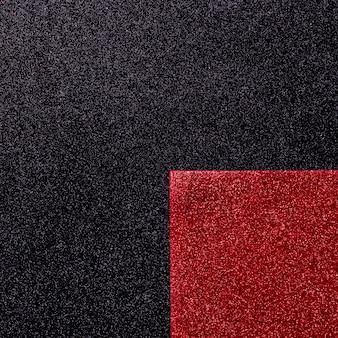 Mehrfarbiger reflektierender glitzer mit kopierraum