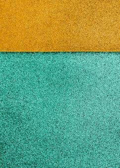 Mehrfarbiger schillernder glitzer mit kopierraum