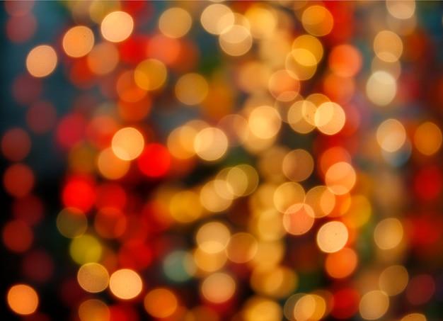 Mehrfarbiges defocused bokeh beleuchtet hintergrund
