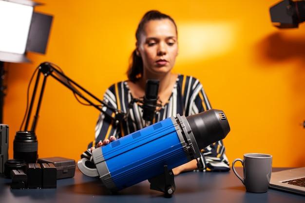 Meinungen über videolicht für die videografieproduktion austauschen