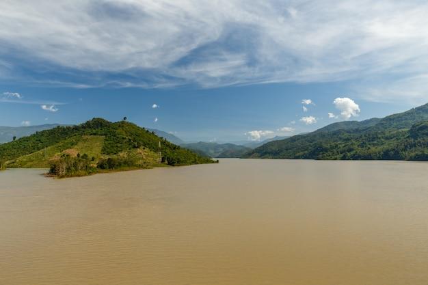 Mekong-fluss, laos