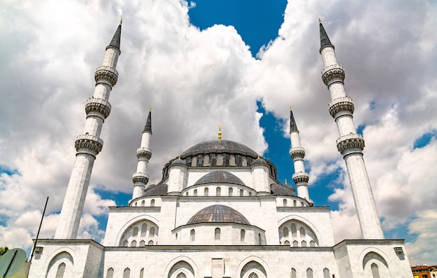 Melike hatun moschee in ankara, der hauptstadt der türkei