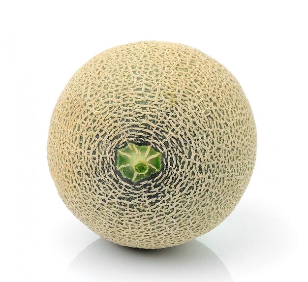 Melone auf weiß