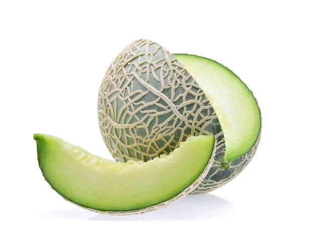 Melone isoliert auf weiß