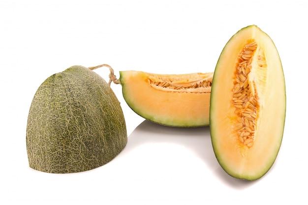 Melone isoliert auf weiss