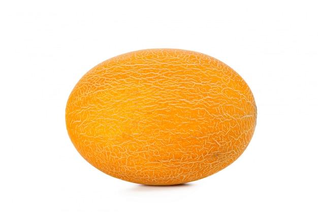 Melone, isoliert auf weiss