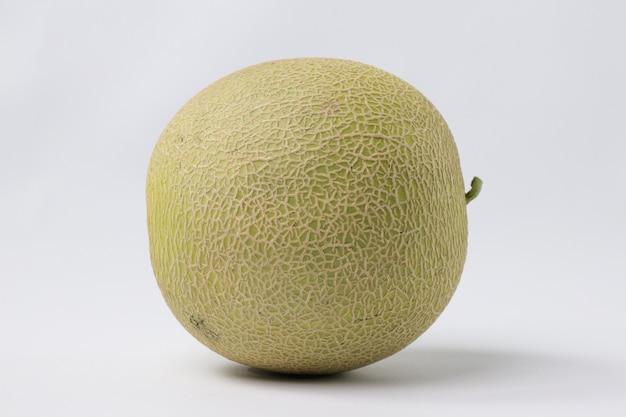 Melone melone isoliert auf weiß