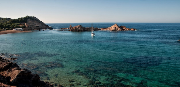 Menorca, meerblick von spanien