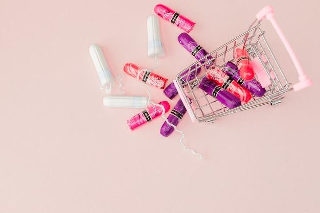 Menstruationsperiodenkonzept