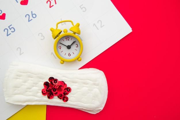Menstruationszykluskonzept der frau.