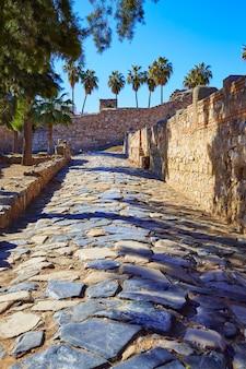 Merida alcazaba in spanien badajoz extremadura
