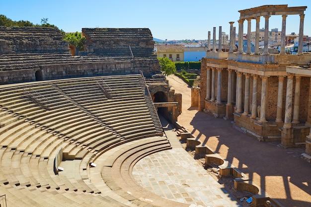 Merida in badajoz römischem amphitheater spanien