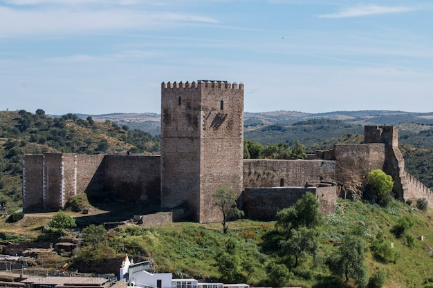 Mertola mittelalterliche burg
