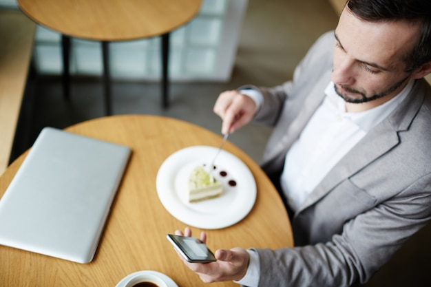 Messaging im café