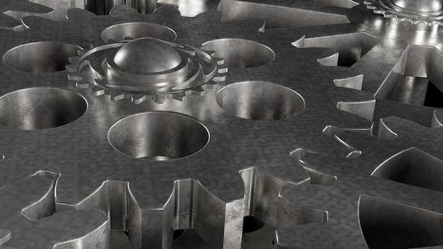 Metallgetriebe aus stahl