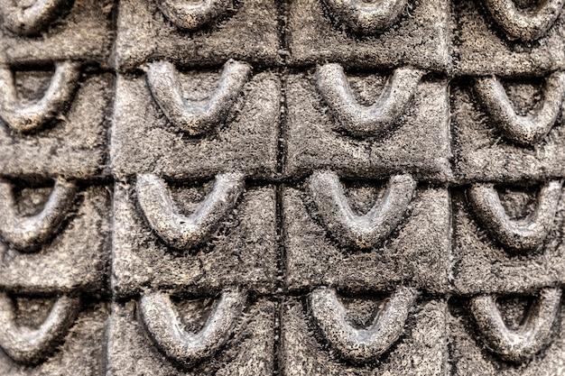 Metallischer hintergrund mit abstrakten formen
