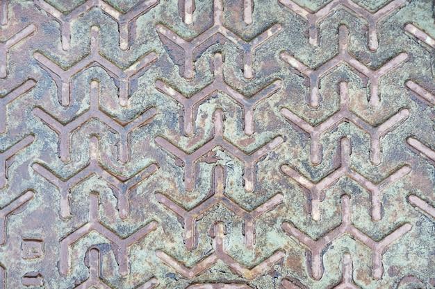 Metallischer hintergrund mit musterbeschaffenheit. gealterte metallische hintergrundbeschaffenheit