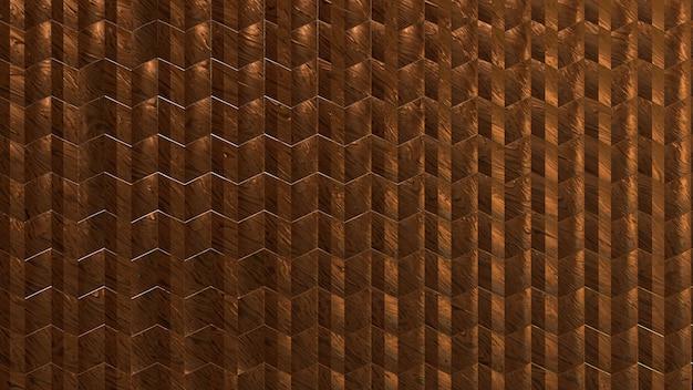 Metallischer hölzerner beschaffenheitsfliesenhintergrund