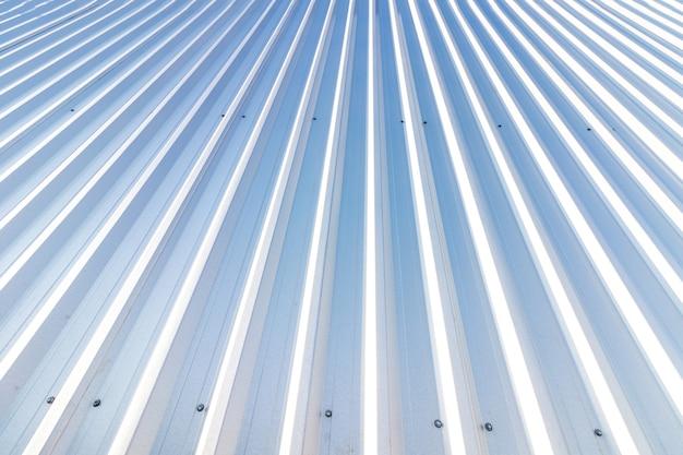 Metallischer vertikal gestreifter texturhintergrund