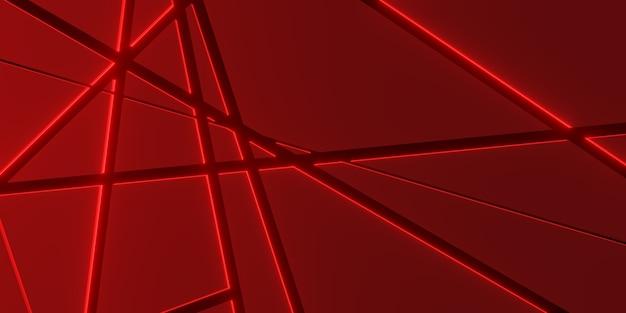 Metallplatte hintergrund überlagern sie schichten und dekorieren sie lichteffekte 3d illustration