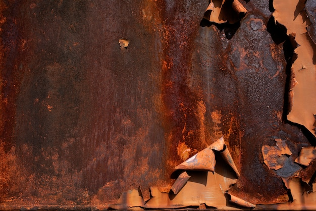 Metallrost-hintergrund metallrost-beschaffenheit