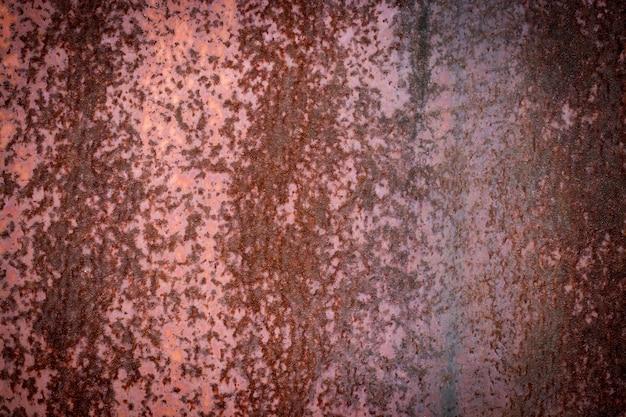 Metallrosthintergrund, schmutzrosthintergrundbeschaffenheit.